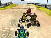3Dクワッドバイクレース