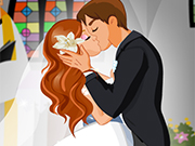 A Bride's First Kiss