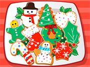 デザートにはまっ:クリスマスクッキー