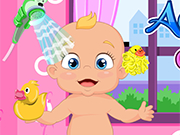 Play Adorable Little Baby Bath