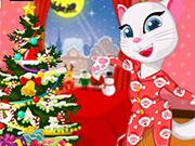Play Angela Christmas Pyjama Party