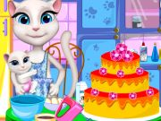 Play Angela Cooking Cake