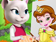 Play Angela Painting Baby Belle