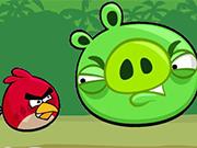 Play 怒っている鳥はPiggiesキック