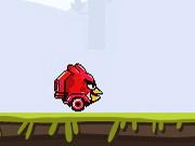 怒っているロケットの鳥