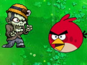 Play Angrybirds zombies war