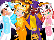 Play Animal Crew Halloween