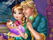 Play アンナとKristoff赤ちゃんの摂食