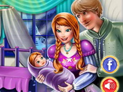 Play Anna And Kristoff Baby Room