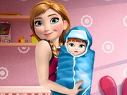 Play Anna and the New Born Baby