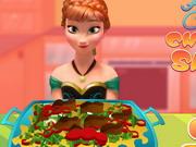 Play Anna Cooking Chicken Salad