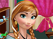 Play Anna Frozen Salon