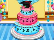 アンナ卒業ケーキコンテスト