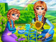 Play Anna Mommy Gardening