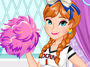 Play Anna's Cheerleading Tryouts