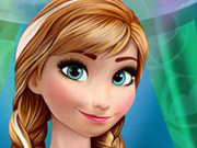 Play Anna's Frozen manicure