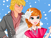 Play Anna Winter Wedding Makeover