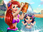 Play Ariel Baby Wash
