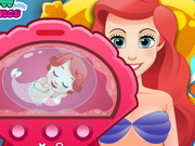 Play Ariel Give Birth To A Baby