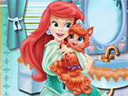 Play Ariel Treasure Bathroom Clean Up