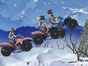ATV冬のチャレンジ