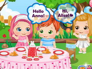 Play Baby Alice Tea Party