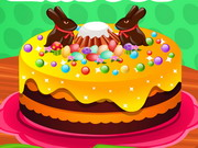 Play Baby Anna Easter Cake