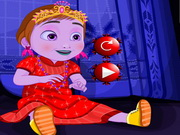 Play Baby Anna's Christmas Dressup