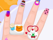 Play Baby Barbie Crazy Nails