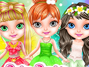 Play Baby Barbie Fairy Salon