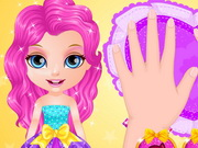 Play Baby Barbie Glittery Nails