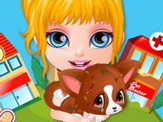 Play Baby Barbie Injured Pet