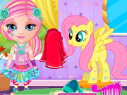 Play Baby Barbie Little Pony 2