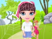 Play Baby Barbie Mermaids Land