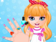 Play Baby Barbie Ombre Nails