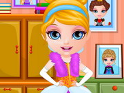 Play Baby Barbie Princess Dress Design