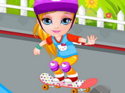 Play Baby Barbie Skateboard Accident