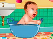 Play Baby Bathroom Cleanup