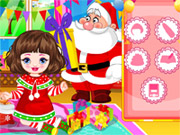 Play Baby Christmas Slacking