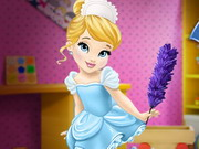 Play Baby Cinderella House Cleaning