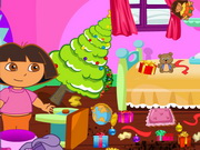 Play Baby Dora Clean The House