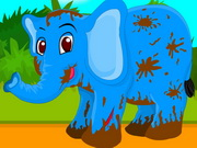 Play Baby Elephant Leg Injury