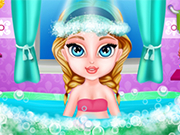 Play Baby Elsa Amazing Care