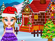 Play Baby Elsa and Gingerbread House