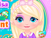 Play Baby Elsa Easter Egg Hunt