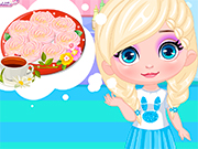 Play Baby Elsa Rose Cookies For Mom