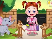 Play Baby Emma At The Zoo