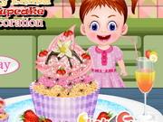 赤ちゃんエマカップケーキ
