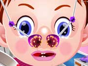 Play Baby Emma Nose Doctor