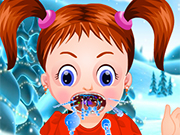 Play Baby Emma Winter Throat Problem